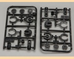 Tamiya #50598 RC CVA Mini Shock II V Parts