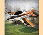 RC Factory YAK-55 Gold backyard 800mm